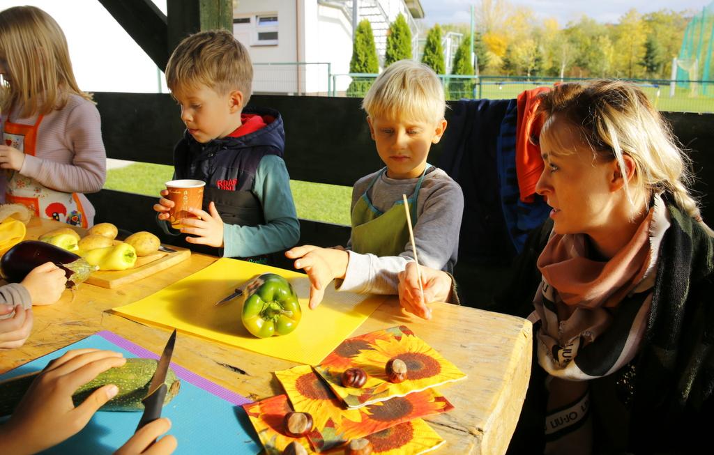 DZień Ziemniaka w Montessori PreSchool